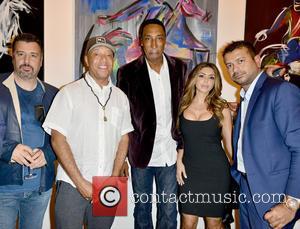Guest, Russell Simmons, Scottie Pippen, Larsa Younan and Kamal Hotchandani