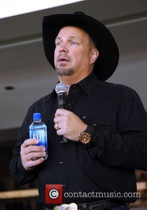 Garth Brooks - Garth Brooks Discusses Plans for 2016 Las Vegas Arena Shows at The Las Vegas Arena Site, Dec,...