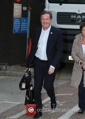 Piers Morgan - Piers Morgan outside ITV Studios - London, United Kingdom - Thursday 3rd December 2015