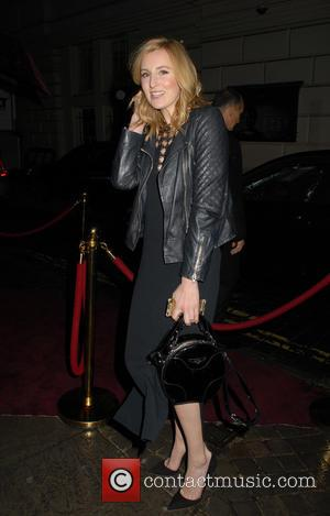Laura Carmichael - Charlotte Tilbury's 'Naughty Christmas Party' flagship store launch party at The Nag's Head Pub - London, United...