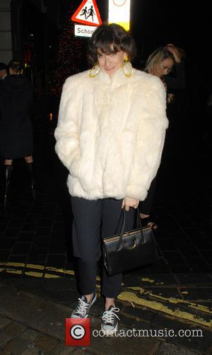 Leah Wood - Charlotte Tilbury's 'Naughty Christmas Party' flagship store launch party at The Nag's Head Pub - London, United...
