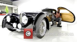 Jimmy Jean-Louis - Jimmy Jean-Louis visits Elo's Miami Supercar Rooms at Art Basel Miami Beach at Miami Supercar Rooms -...