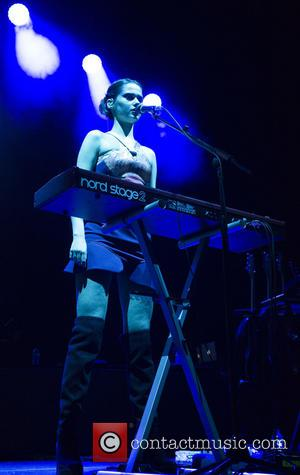 Bloom Twins - The Bloom Twins perform at the Genting Arena as the opening act for Duran Duran at Genting...