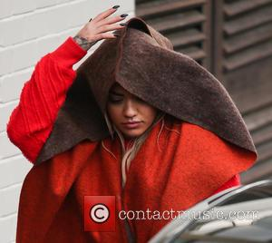 Rita Ora - Cheryl Fernandez-Versini and Rita Ora arrive at Fountain studios for the X Factor semi-final rehearsal at x...