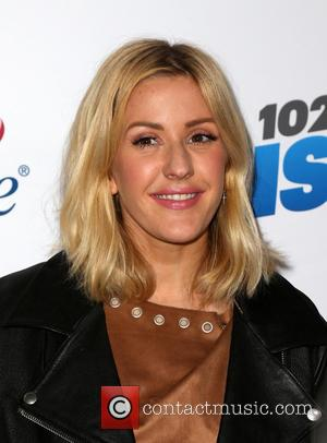 Ellie Goulding - KIIS FM's iHeartRadio Jingle Ball 2015 at Microsoft Theater - Arrivals at STAPLES Center - Los Angeles,...