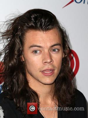 Harry Styles - KIIS FM's iHeartRadio Jingle Ball 2015 at Microsoft Theater - Arrivals at STAPLES Center - Los Angeles,...