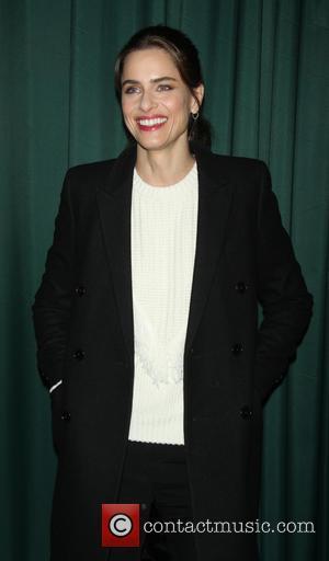 Amanda Peet - Author Andrea Troyer and actress Amanda Peet sign copies of their book 'Dear Santa, Love, Rachel Rosenstein'...