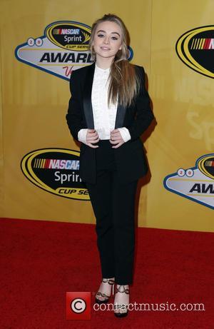 Sabrina Carpenter - 2015 NASCAR Sprint Cup Series Awards at the Wynn Las Vegas - Arrivals at The Wynn -...