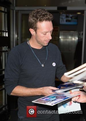 Chris Martin , Coldplay - Chris Martin at the BBC Radio 2 studios at BBC Western House - London, United...