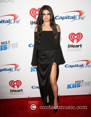 Selena Gomez - KIIS FM's iHeartRadio Jingle Ball 2015 at Microsoft Theater - Arrivals at Microsoft Theater - Los Angeles,...