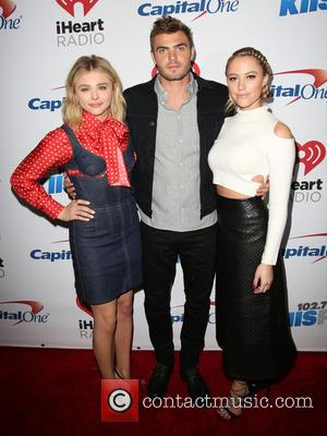 Chloe Grace Moretz, Alex Roe , Maika Monroe - KIIS FM's iHeartRadio Jingle Ball 2015 at Microsoft Theater - Arrivals...