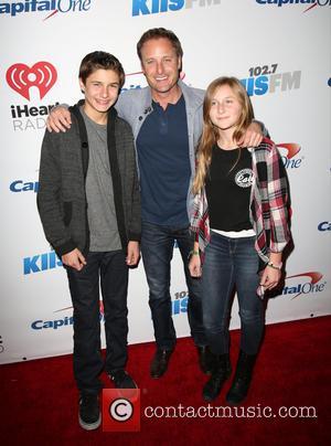 Chris Harrison , family - IIS FM's iHeartRadio Jingle Ball 2015 at Microsoft Theater - Arrivals at Microsoft Theater -...