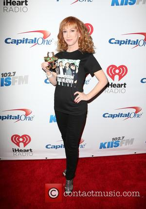 Kathy Griffin - KIIS FM's iHeartRadio Jingle Ball 2015 at Microsoft Theater - Arrivals at STAPLES Center - Los Angeles,...