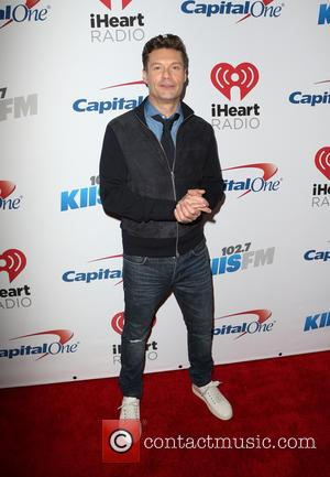 Ryan Seacrest - KIIS FM's iHeartRadio Jingle Ball 2015 at Microsoft Theater - Arrivals at STAPLES Center - Los Angeles,...