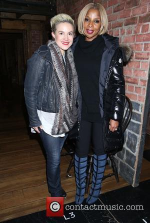 Betsy Struxness and Mary J. Blige