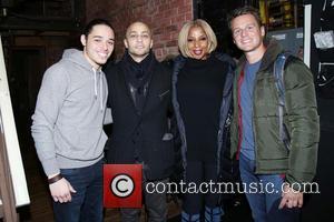 Mary J. Blige, Anthony Ramos and Seth Stewart