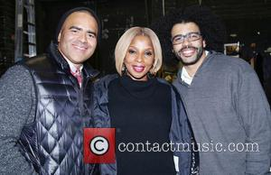 Christopher Jackson, Mary J. Blige and Daveed Diggs