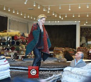 Sharon Stone - Sharon Stone goes rug shopping at Hamilton Oriental Rugs in West Hollywood - Los Angeles, California, United...