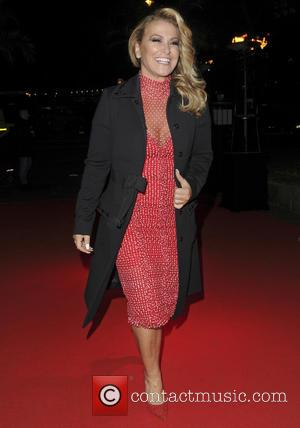 Anastacia - Ronan Keating's Emeralds & Ivy 10th anniversary ball, a fundraising ball in aid of Cancer Research UK and...