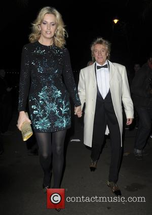 Penny Lancaster Stewart Rob Stewart - Ronan Keating's Emeralds & Ivy 10th anniversary ball, a fundraising ball in aid of...