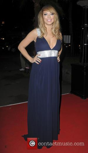 Liz McClarnon - Ronan Keating's Emeralds & Ivy 10th anniversary ball, a fundraising ball in aid of Cancer Research UK...