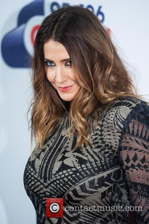 Lisa Snowdon - Capital FM's Jingle Bell Ball 2015 at the O2 Arena - Arrivals - London, United Kingdom -...