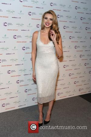 Nadine Coyle - Ronan Keating's Emeralds & Ivy 10th anniversary ball, a fundraising ball in aid of Cancer Research UK...
