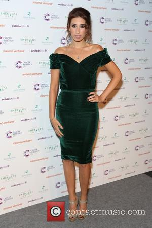 Stacey Solomon - Ronan Keating's Emeralds & Ivy 10th anniversary ball, a fundraising ball in aid of Cancer Research UK...