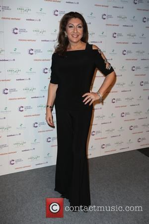 Jane McDonald - Ronan Keating's Emeralds & Ivy 10th anniversary ball, a fundraising ball in aid of Cancer Research UK...