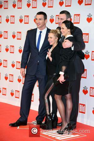 Wladimir Klitschko, Hayden Panettiere, Natalia Klitschko and Vitali Klitscho