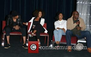 Nick Cannon, Angela Bassett, Teyonah Parris , Steve Harris - 'Chi-Raq' Screening and Q&A at Cinerama Dome - Los Angeles,...