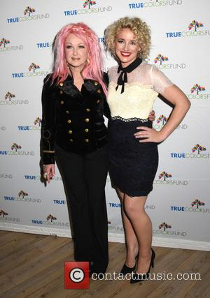 Cyndi Lauper , Cam - Cyndi Laupers True Colors Fund Hosts 5th Annual Home For The Holiday Concert at Beacon...