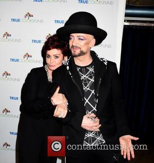 Sharon Osbourne and Boy George
