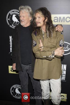 Kris Kristofferson and Steven Tyler