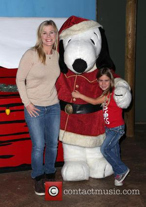 Alison Sweeney , Megan Sanov - Knott's Berry Farm's Countdown To Christmas And Snoopy's Merriest Tree Lighting at Knott's Berry...