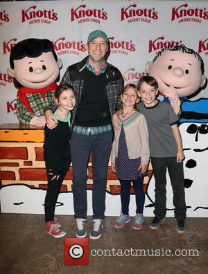 Tony Hale - Knott's Berry Farm's Countdown To Christmas And Snoopy's Merriest Tree Lighting at Knott's Berry Farm - Buena...