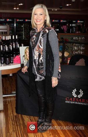Olivia Newton-John - Olivia Newton John wine and CD signing at Flamingo Las Vegas - Las Vegas, Nevada, United States...