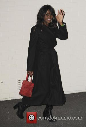 Sinitta - 'The X Factor' studio departures after the live show at The X Factor - London, United Kingdom -...