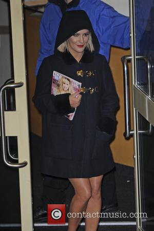 Caroline Flack - 'The X Factor' studio departures after the live show at The X Factor - London, United Kingdom...