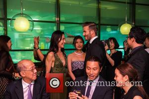 David Beckham , Michelle Yeoh - Beckham, recently voted Sexiest Man Alive by People Magazine, livened up the red carpet...