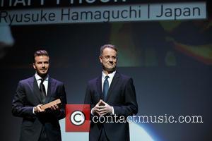 David Beckham and George Tanasijevich