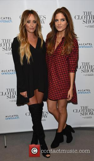 Charlotte Crosby and Binky Felstead