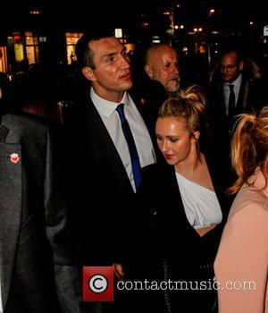 Vitali Klitschko and Hayden Panettiere