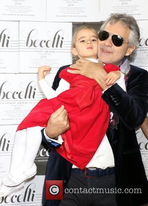 Andrea Bocelli and Virginia Bocelli
