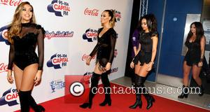 Little Mix - 2015 Jingle Bell Ball held at The O2 - Day 2 - Arrivals at O2 Arena -...