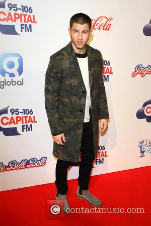 Nick Jonas - 2015 Jingle Bell Ball held at The O2 - Day 2 - Arrivals at O2 Arena -...