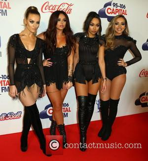 Little Mix, Jade Thirlwall, Perrie Edwards, Leigh-Anne Pinnock , Jesy Nelson - 2015 Jingle Bell Ball held at The O2...