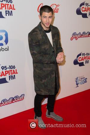 Nick Jonas - Capital's Jingle Bell Ball with Coca-Cola at London's O2 Arena - Arrivals at London's O2 Arena -...