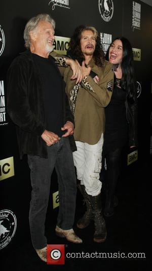 Kris Kristofferson, Steven Tyler and Mia Tyler
