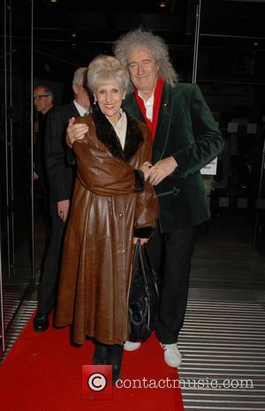 Anita Dobson , Brian May - Gala performance of 'Matthew Bourne's Sleeping Beauty' at Sadler's Wells Theatre - Departures at...